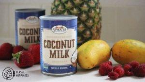 sprouts coconut milk